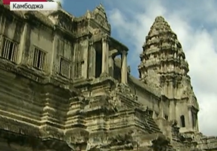 Древний храм в Камбодже