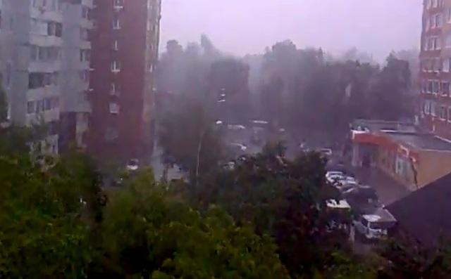 Ураган в Щелково