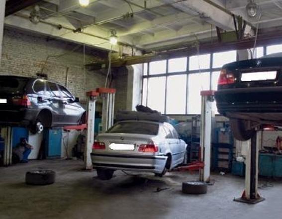 автомастерские дяди Васи в гаражах
